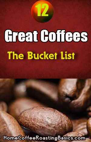 Tired Of Your Coffee?   A Bucket List Of 12 Great Coffee Tastes To Try